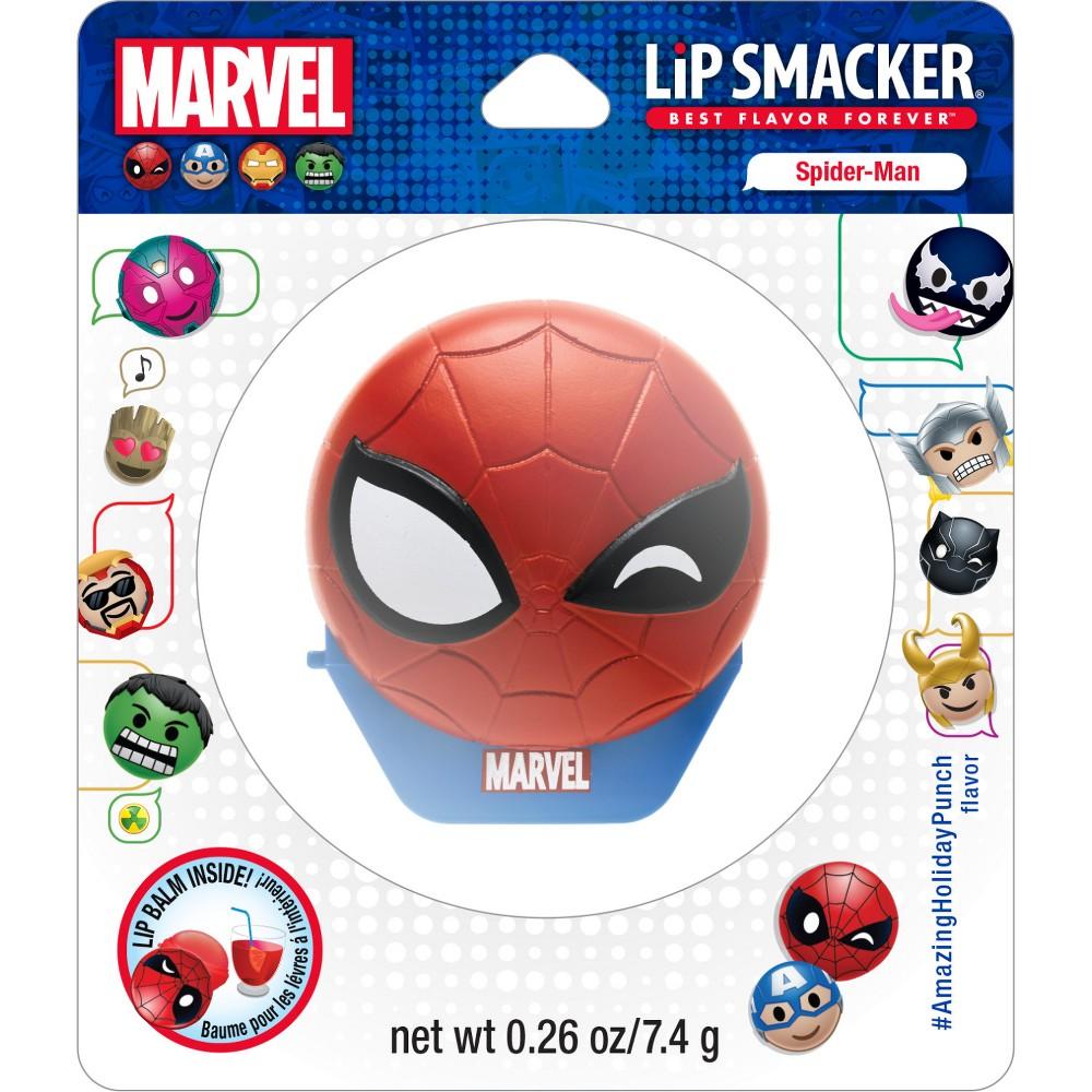 Lip Smacker Disney Emoji Flip Balm Spider-Man - 0.14oz, Spiderman