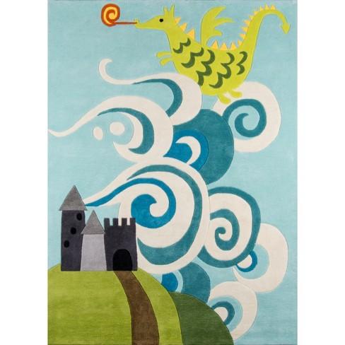 Mystical Dragon Rug - image 1 of 5