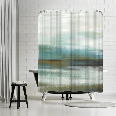 "Americanflat Sprawl Ii by Pi Creative Art 71"" x 74"" Shower Curtain"