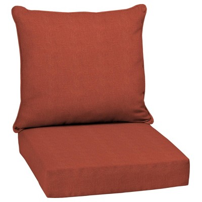 Sedona Woven Outdoor Cushion Set Orange - Arden Selections