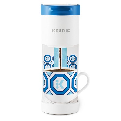 Keurig K-Mini Basic Jonathan Adler Limited Edition Single-Serve K-Cup Pod Coffee Maker - White