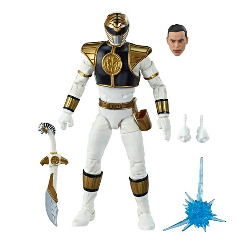 "Power Rangers Lightning Collection 6"" Mighty Morphin White Ranger Collectible Action Figure - image 1 of 4"