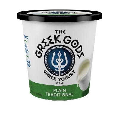 The Greek Gods Traditional Plain Greek Yogurt - 24oz
