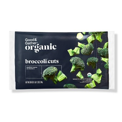 Frozen Organic Broccoli Cuts - 28oz - Good & Gather™
