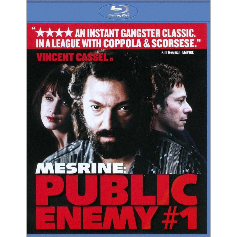 Mesrine:Public Enemy No 1 (Part 2) (Blu-ray)