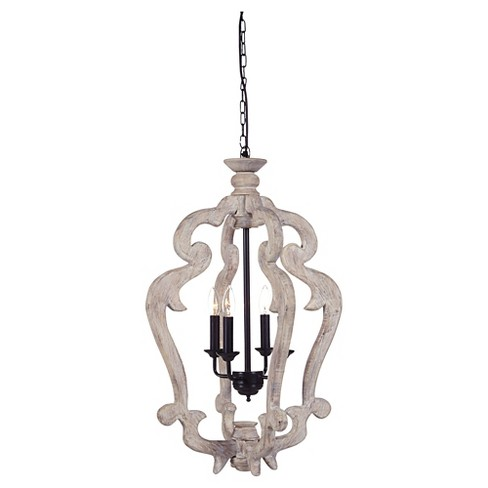 Jocelin Pendant Light Distressed White - Signature Design by Ashley - image 1 of 2