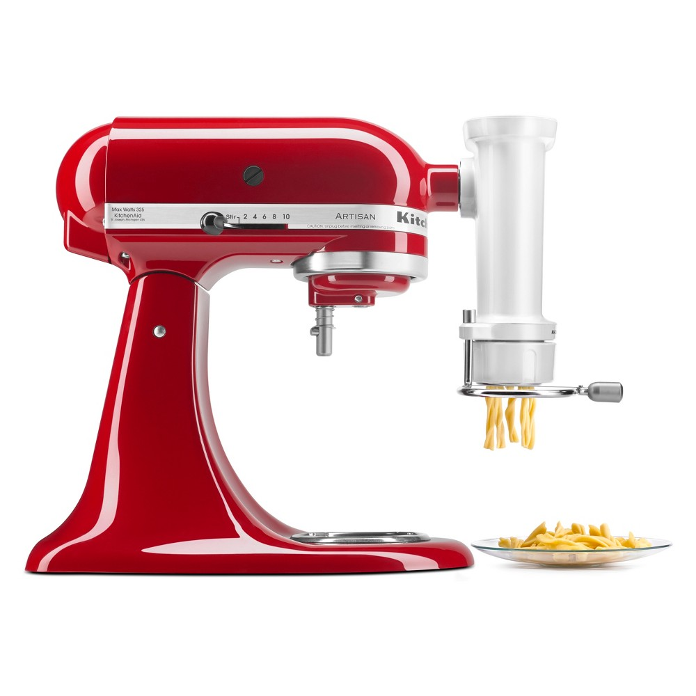 KitchenAid Gourmet Pasta Press White - Ksmpexta
