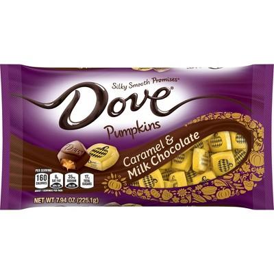 Dove Promises Halloween Caramel & Milk Chocolate Pumpkins - 7.94oz