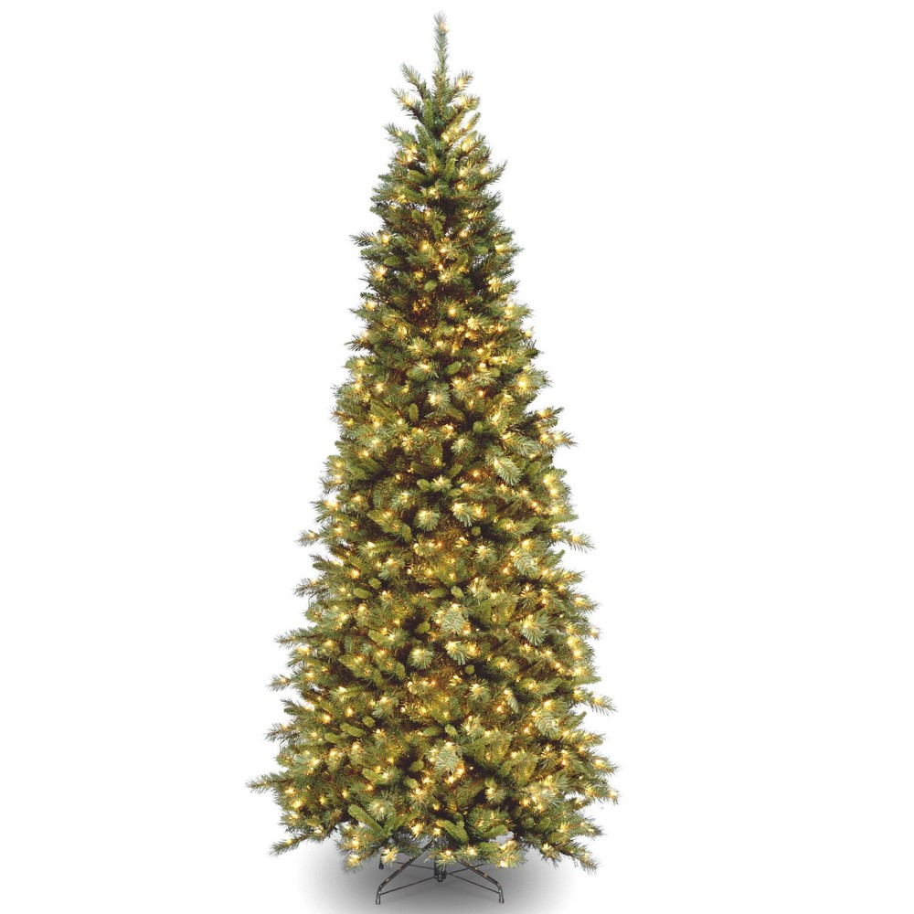 9ft National Christmas Tree Company Tiffany Fir Artificial Full Christmas Tree 700ct Clear