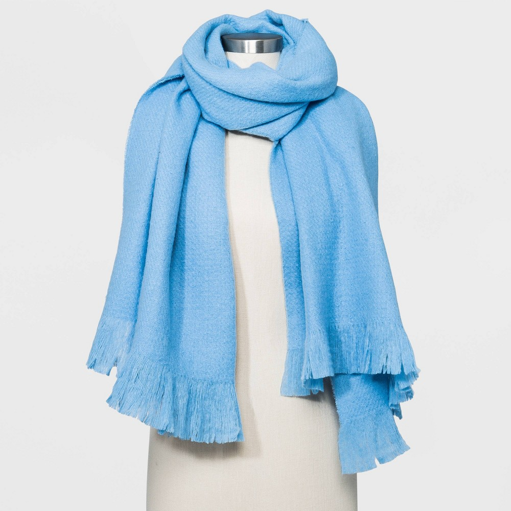 Reviews Women' olid Blanket carf - A New Day™