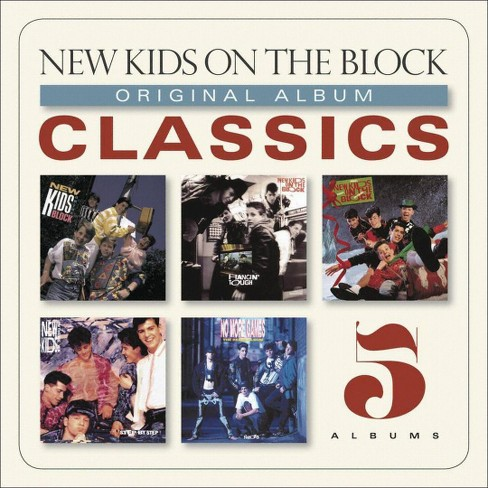 New kids on the bloc - Original album classics:New kids on t (CD) - image 1 of 1