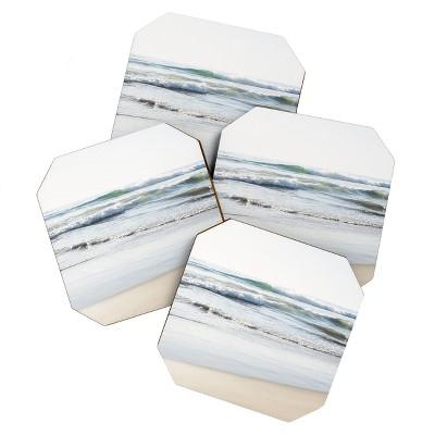 Bree Madden Ponto Waves Set of 4 Coasters - Deny Designs