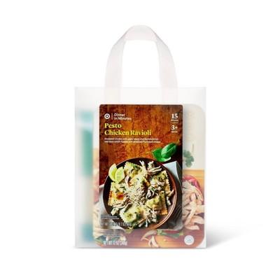 Pesto Chicken Pasta Meal Bag - 34oz