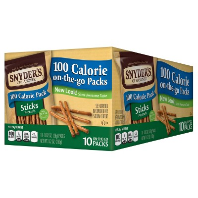 Pretzels: Snyder's 100 Calorie Pretzel Sticks