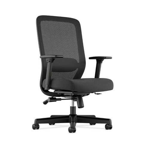 Awe Inspiring Exposure Mesh Office Chair With 2 Way Adjustable Arms Black Hon Home Interior And Landscaping Transignezvosmurscom