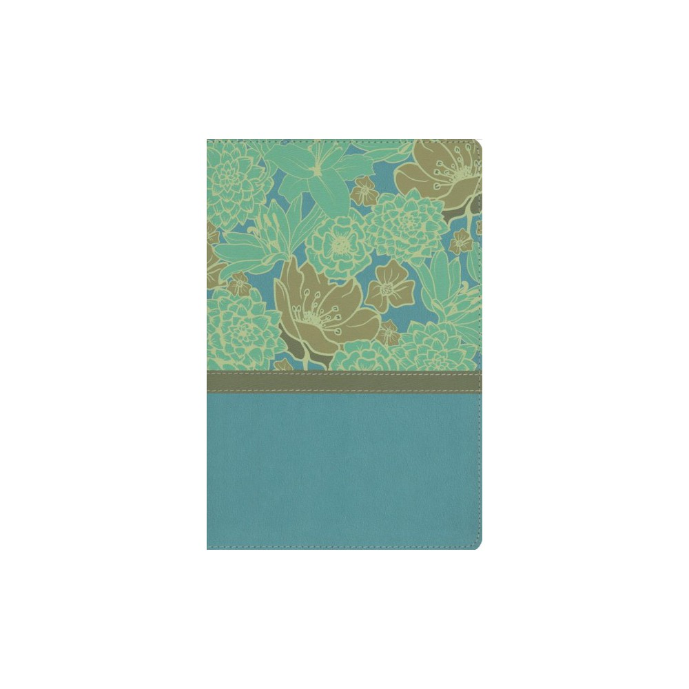 Holy Bible : New International Version, Turquoise, Leathersoft, Thinline, Giant Print - Large Print
