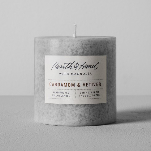Pillar Candle - Cardamom & Vetiver - Hearth & Hand™ with Magnolia - image 1 of 2