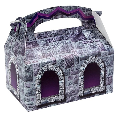 8 ct Stone Castle Favor Boxes - image 1 of 1