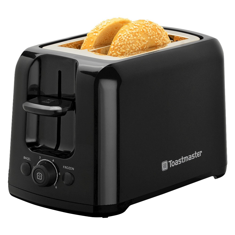 Toastmaster 2 Slice Cool Touch Toaster, Black
