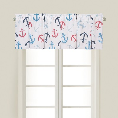 C&F Home Anchors Away Cotton Valance Window Treatment