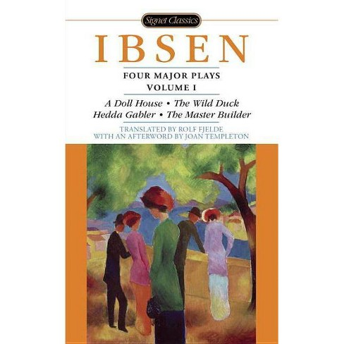Four Major Plays - (Signet Classics) by  Henrik Ibsen (Paperback) - image 1 of 1