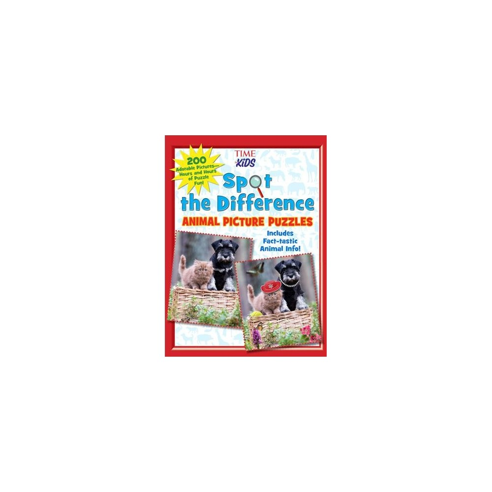 Spot the Difference Animal Picture Puzzles : 200 Adorable Pictures - Hours and Hours of Puzzle Fun!