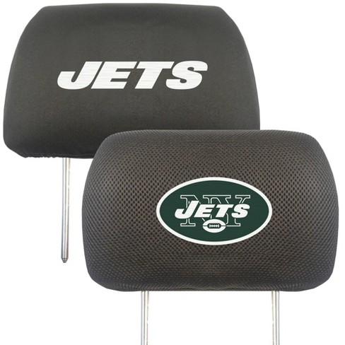 NFL New York Jets Embroidered Head Rest Cover Set - 2pc - image 1 of 3