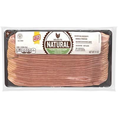 Oscar Mayer Smoked Uncured Turkey Bacon with Sea Salt - 11oz