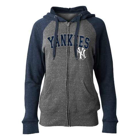 MLB New York Yankees Women s On Deck Full Zip Hoodie   Target 8b037ece1