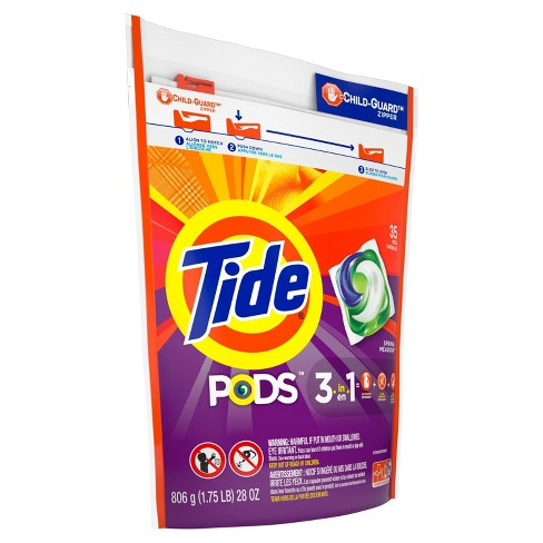 Tide Pods Laundry Detergent Pacs Spring Meadow - 35ct - image 1 of 3