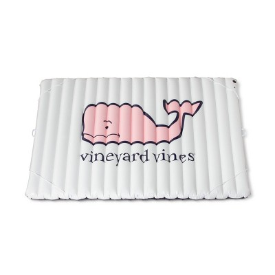 b18e9b6315f1 Pink Whale Inflatable Mattress Style Floatie - White - vineyard vines® for  Target