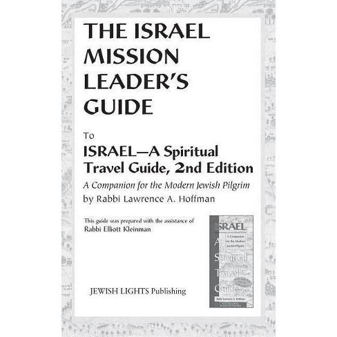 Israel Mission Leader's Guide - by  Elliott Kleinman (Paperback) - image 1 of 1