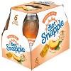 Diet Snapple Peach Tea - 6pk/16 fl oz Glass Bottles - image 2 of 4