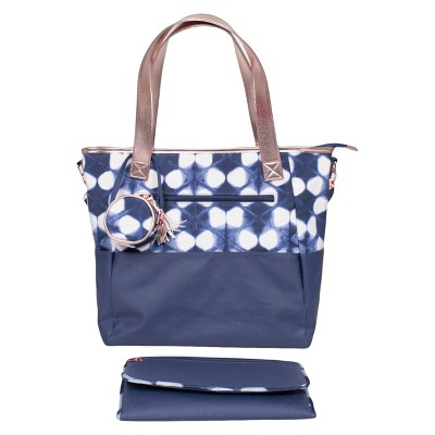 Shibori Tote Diaper Bag - Cloud Island™
