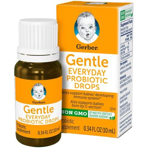 Gerber Gentle Everyday Probiotic Drops - .34 fl oz - image 1 of 4