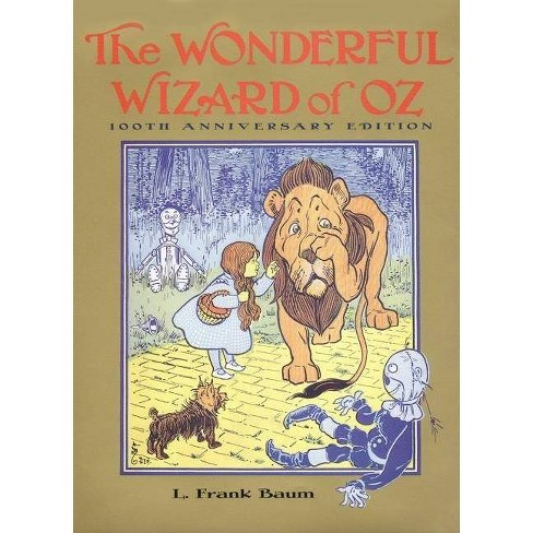 The Wonderful Wizard of Oz - (Books of Wonder) by  L Frank Baum (Paperback) - image 1 of 1