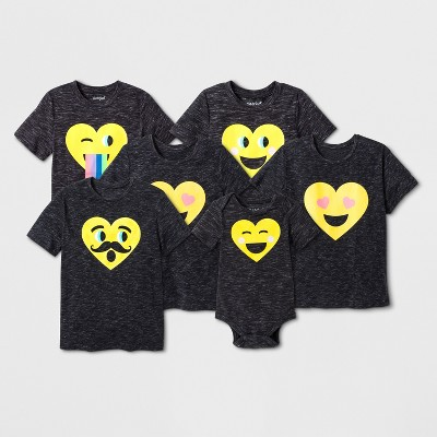 88a76103a Emoji Family T-Shirt Collection : Target