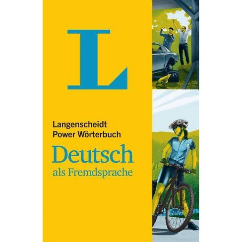 Langenscheidt Power Woerterbuch Deutsch ALS Fremdsprache - Monolingual German Dictionary (German - image 1 of 1