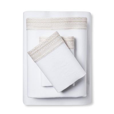 100% Linen Sheet Set (King)Sea Salt - Fieldcrest®