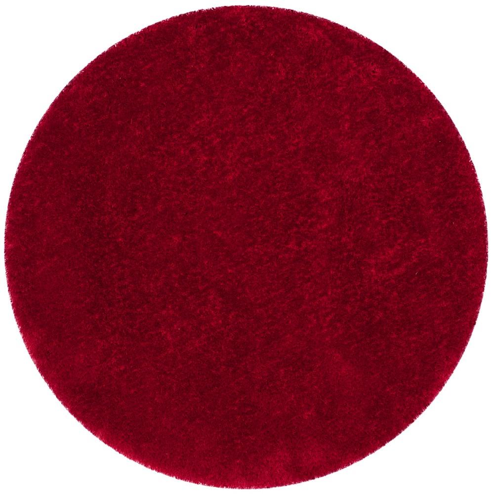 8' Solid Tufted Round Area Rug Light Gray - Safavieh