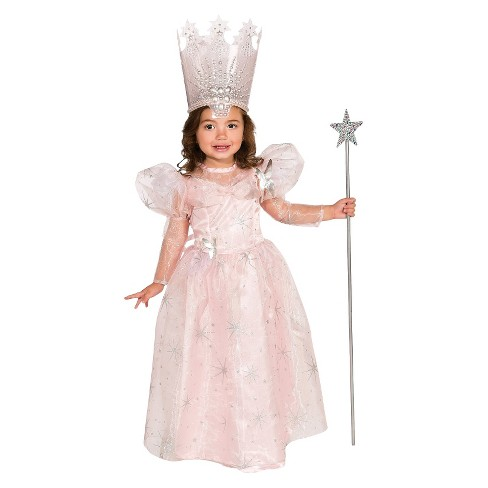 The Wizard of Oz Toddler Deluxe Glinda the Good Witch Costume 2T-4T