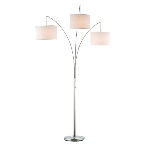 Adesso Trinity Arc Lamp - Silver - image 1 of 1