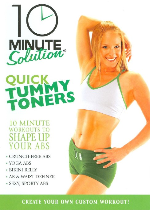 10 Minute Solution:Quick Tummy Toners (DVD) - image 1 of 1