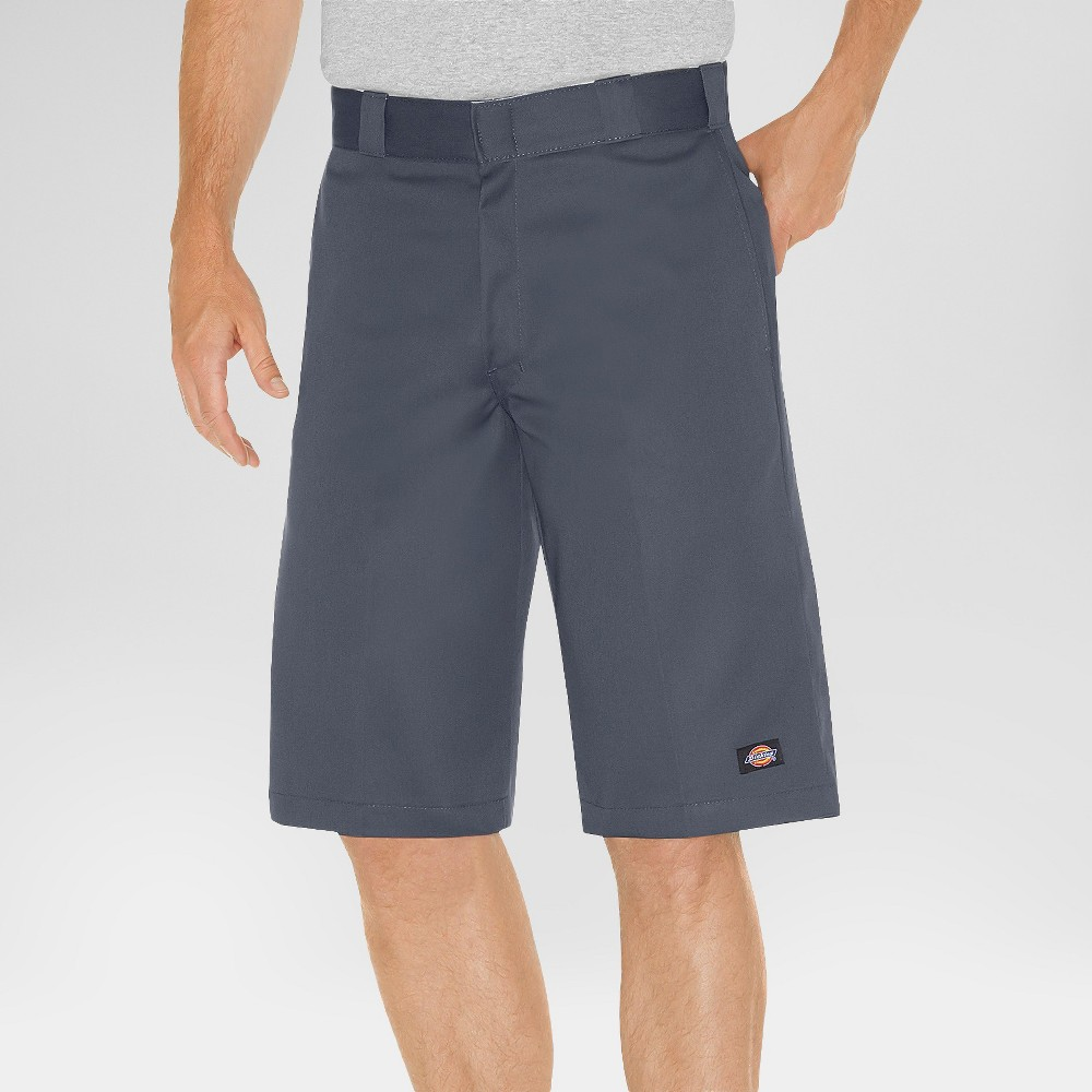 Dickies Men's Relaxed Fit Twill 13 Multi-Pocket Work Shorts- Charcoal 36, Men's, Grey was $38.99 now $22.99 (41.0% off)