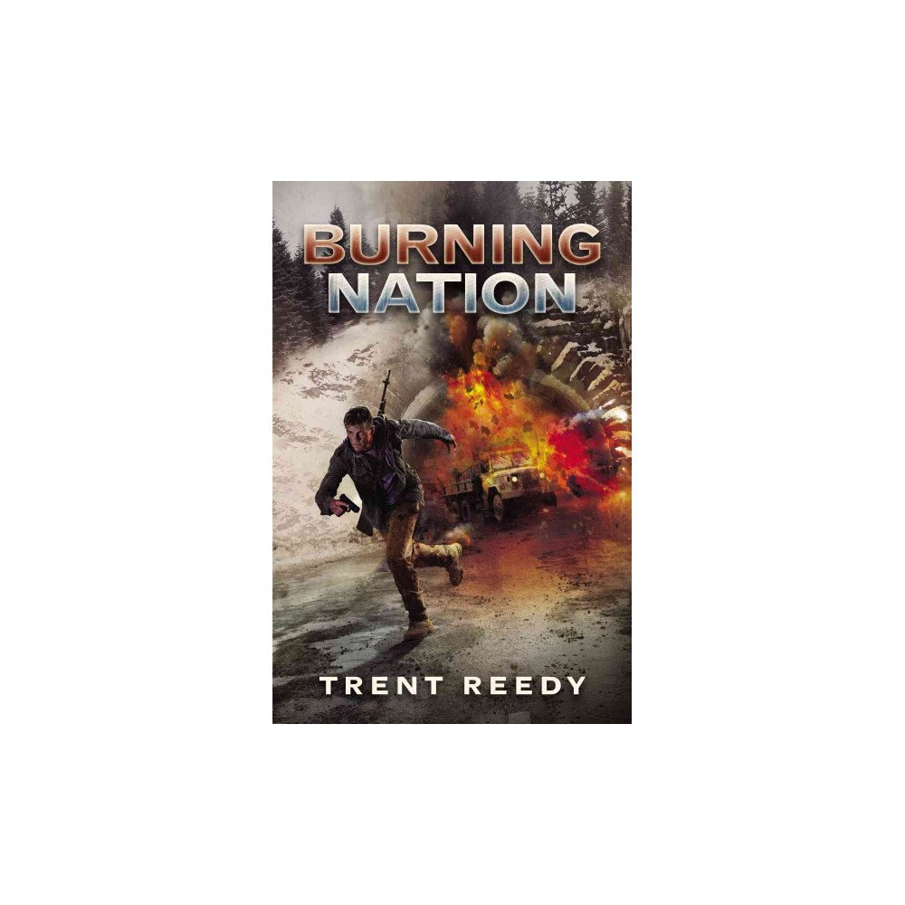 Burning Nation ( Divided We Fall) (Hardcover)
