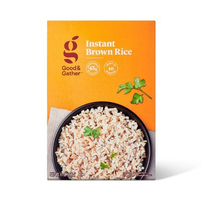 Instant Brown Rice - 14oz - Good & Gather™