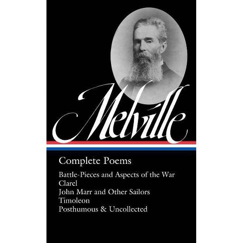 Herman Melville: Complete Poems (Loa #320) - (Library of America Herman Melville Edition) (Hardcover) - image 1 of 1