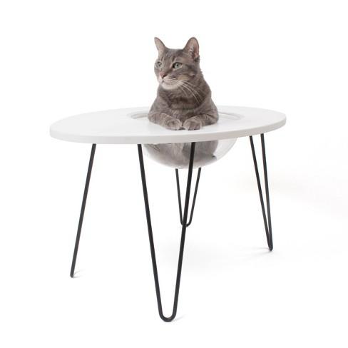 Hauspanther NestEgg Cat Lounge - White - image 1 of 4