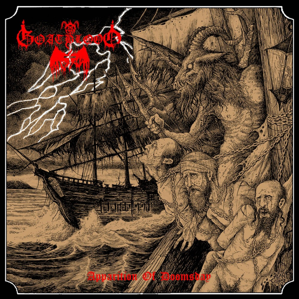 Goatblood Apparition Of Doomsday Cd