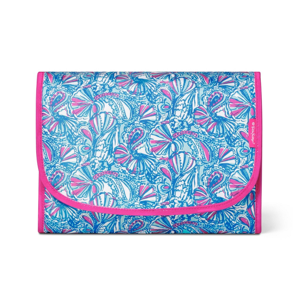 "Image of ""11.7""""x8""""x3"""" Hanging Valet Case My Fans Print - Lilly Pulitzer for Target, Blue"""